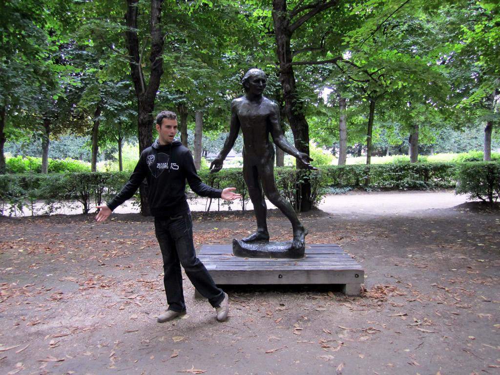 Imagen de Oropesa en Paris Museo Rodin