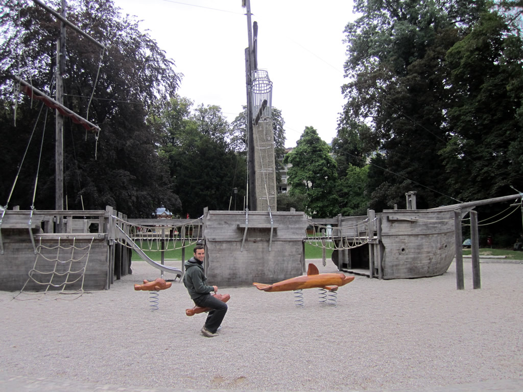 Oropesa en Luxemburgo en el Parque Ed-J-Klein